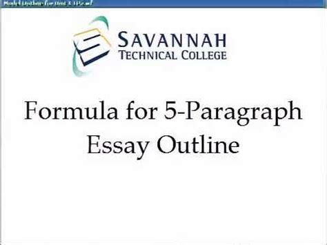 Thesis statement formula apush